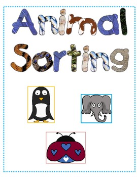 Animal Family Sorting Center