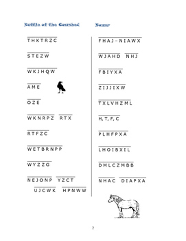 Animal Farm: 6 Cryptocategory Word Puzzles—Unique!