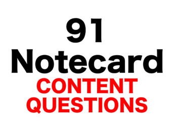 Animal Farm 91 Content Questions Whiteboard Game