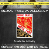 Animal Farm Allegorical Elements Break In Activity