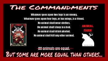 Animal Farm Allegory Presentation