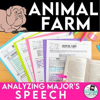 Animal Farm: Analyzing Major's Speech