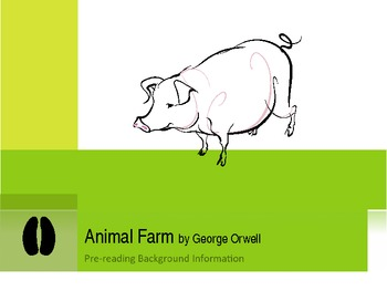 Animal Farm Background Info And Intro