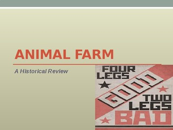 Animal Farm Background Powerpoint