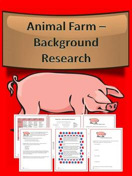 Animal Farm Background Research