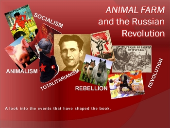 Animal Farm Background Timeline Preview Powerpoint