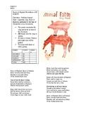 Animal Farm Beasts of England Recitation Assignment