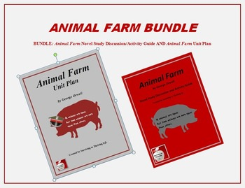 Animal Farm Bundle (Novel Study and Unit Plan)