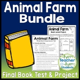 Animal Farm Bundle: Test and Book Report Project {25% Off}