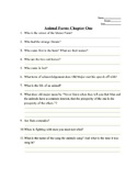 Animal Farm Chapter 1 Study Guide Answers
