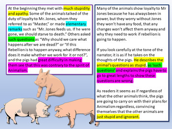 Animal Farm Chapter 2