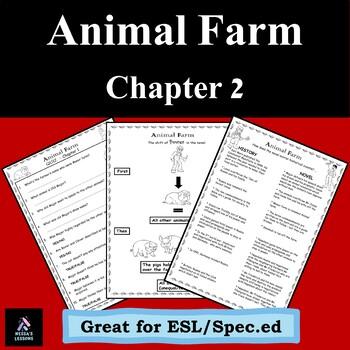 Animal Farm Chapter 2 George Orwell (For ESL/Spec.ed)