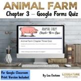 Animal Farm Chapter 3 Quiz Google Forms