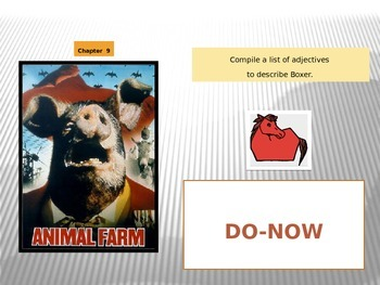 Animal Farm Chapter 9 PPT