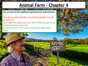 Animal Farm Chapter 4