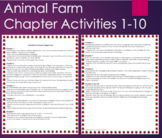 Animal Farm - Projects and Activities Bundle Great for Ass