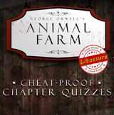 Animal Farm Chapter Quizzes- Cheat Proof!!