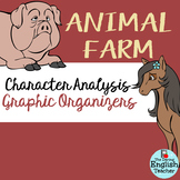 Animal Farm Character Analysis Graphic Organizers