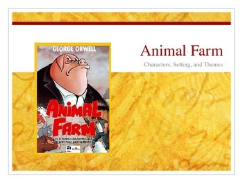Animal Farm Character Introduction