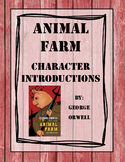 Animal Farm Character Introduction