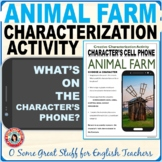 ANIMAL FARM CHARACTERIZATION ACTIVITY Fun and Creative