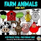 Farm Animals Clip Art For Teachers