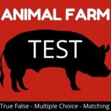 Animal Farm Test 50 questions with key