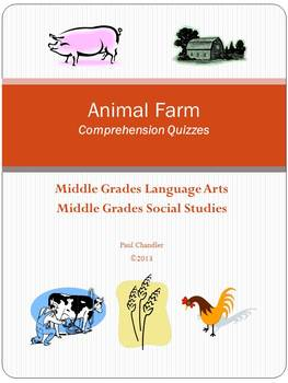 Animal  Farm  Comprehension Quizzes