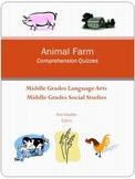 Animal  Farm  Comprehension Quizzes