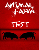 Animal Farm Comprehension Test / Quiz