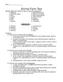 Animal Farm Comprehensive Test