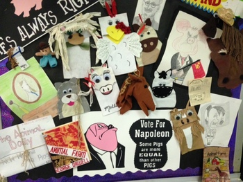 Animal Farm Contract Project (Differentiated Instruction)