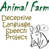 Animal Farm Deceptive Language Speech Project
