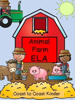 Farm Animal ELA Activities