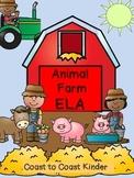 Farm Animal ELA Activities