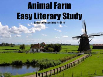 Animal Farm - Easy Literary Study