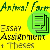 Animal Farm Essay Assignment + Thesis Prompts