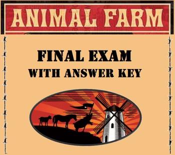 Animal Farm Exam