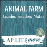 Animal Farm Guided Reading Notes