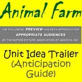 Animal Farm Unit Idea Trailer (Long Anticipation Guide)