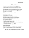 Animal Farm Interactive Worksheets chapters 1-5