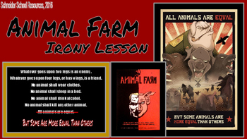 Animal Farm: Irony Lesson