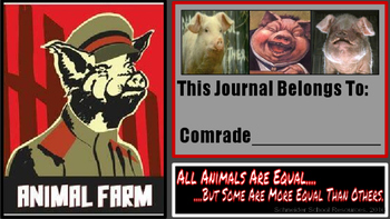 Animal Farm Journal Prompt Pack