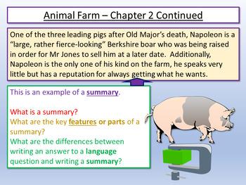 Animal Farm : Language Analysis