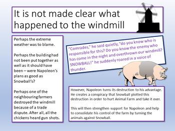 Animal Farm - Last Four Chapters Analysis