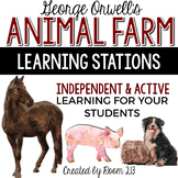 Animal Farm Learning Stations