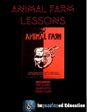Animal Farm Lessons (Slides and Handouts) UPDATED