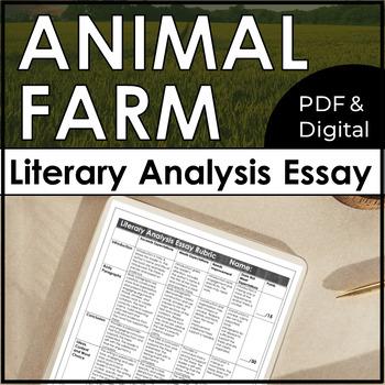 Essay On Health Care Reform Animal Farm Essay Unit Theme For English B Essay also Essay Vs Research Paper Animal Farm Essay Unit By Love And Let Lit  Teachers Pay Teachers Research Paper Essays