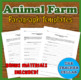 Animal Farm Materials Bundle: Character Worksheets & Templates + More!