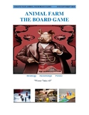 Create Your Own Animal Farm Boardgame- Culminating Task- for film and book study